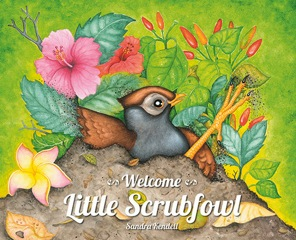 welcome little scrubfowl