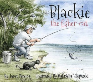 blackie the fisher cat