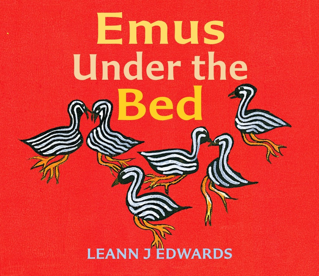 Emus Under the Bed   APPROVED FRONT COVER (11 March 2014)