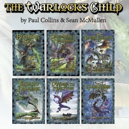 Books 1-6 - THE WARLOCK'S CHILD - all covers (2)
