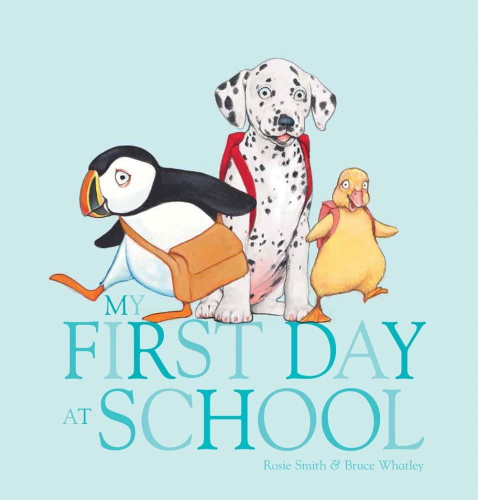 my first day in the school
