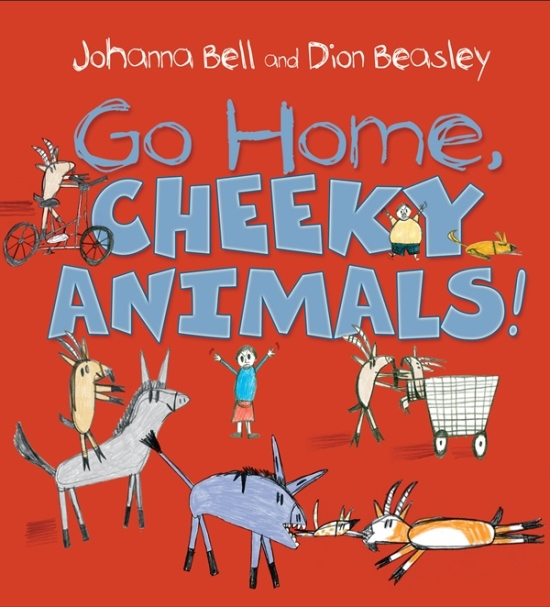 Go Home Cheeky Animals | FULL COVER DESIGN 3 (3 December 2015)