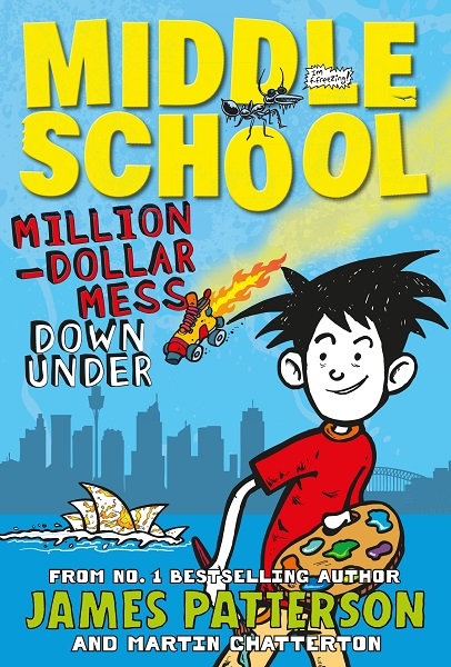 Book Cover School Uniforms : Million dollar mess down under middle school